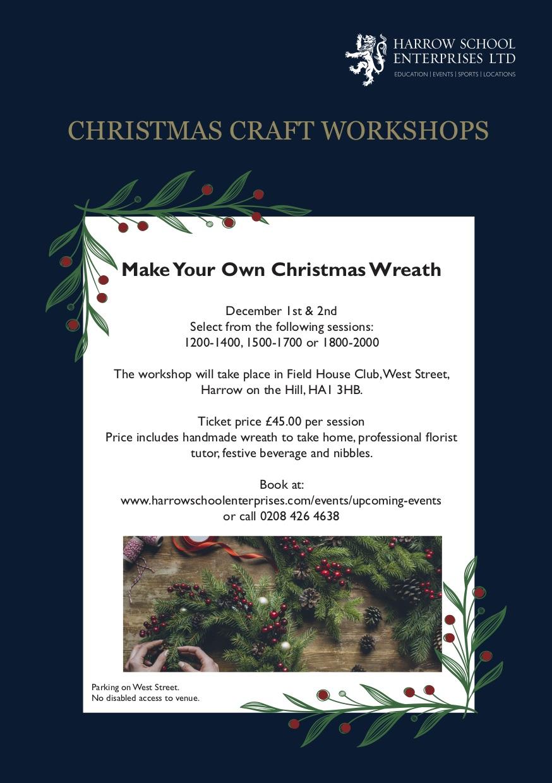 Harrow School Enterprises Ltd | Christmas Wreaths